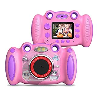 Best Birthday Gift for Kids Age 3-8 Campark Kids Digital Camera