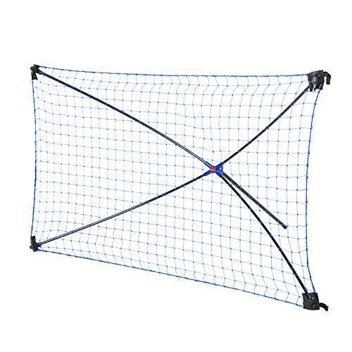 Tri Great USA CORP Net Playz Easy Kickback Portable Soccer Rebounder Net, 5FT x 3FT, Quick Set Up, Light-weight, Multi Angle Adjustment – DiZiSports Store