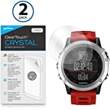 BoxWave Garmin Fenix 3 ClearTouch Crystal (2-Pack) Screen Protector for Garmin Fenix 3