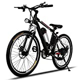 Image of Eshion Electric mountain Bicycle E bike with Lithium-Ion Battery, Battery Charger, 26-Inch Wheel(US STOCK)