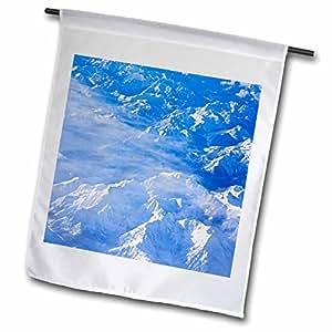 Danita Delimont - Mountains - Snow covered North Cascades mountains, USA - US48 JMI0153 - Janis Miglavs - 18 x 27 inch Garden Flag (fl_95817_2)