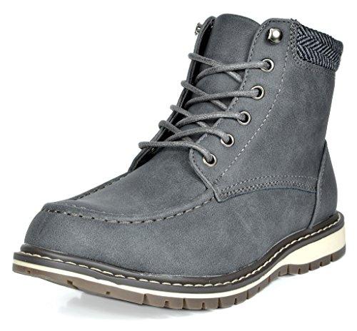 d Apache-01 Grey Faux Fur Winter Snow Ankle Boots Size 11 M US Little Kid (Faux Fur Kids Boots)