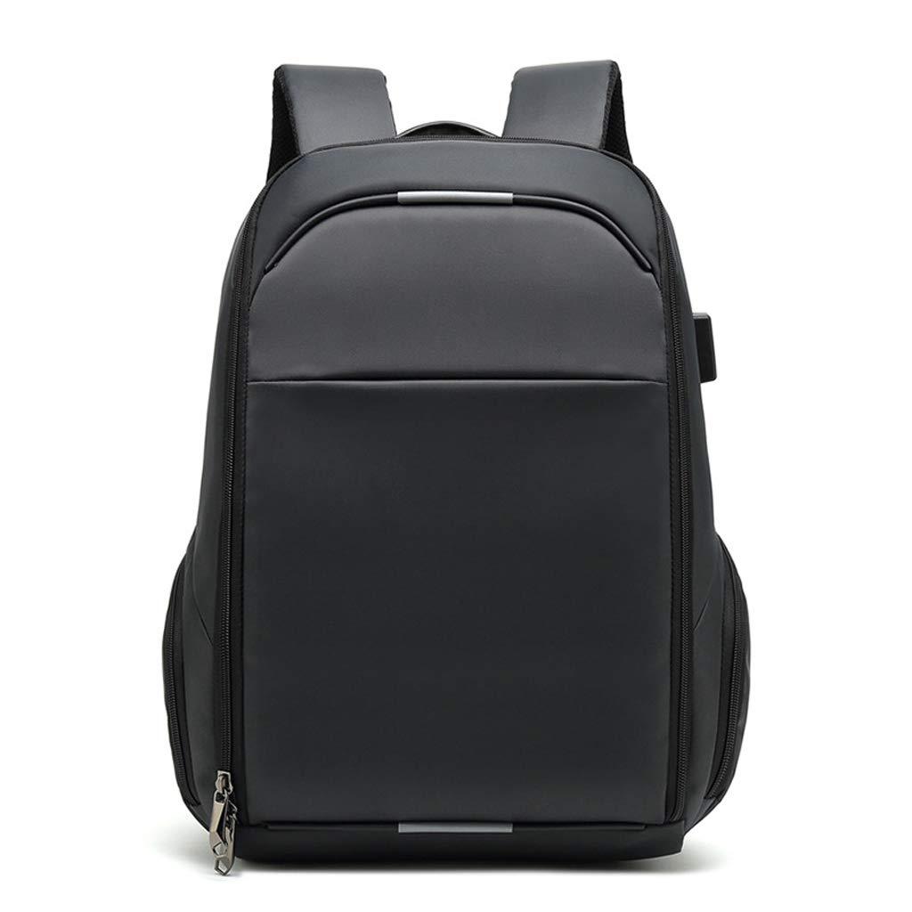 Zmsdt メンズ バックパック ビジネス 旅行 盗難防止 カジュアル バックパック USB充電ポート付き 防水 大容量 15.6インチ ノートパソコン バックパック  グレー B07L9XG3LX