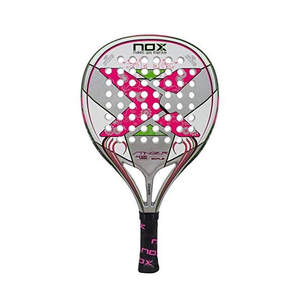 NOX Stinger Jr. 2.1Girls–Racchetta de Paddle, Colore: Rosa 1 spesavip