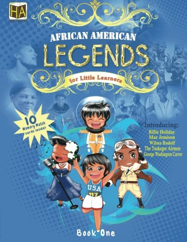 Search : 1: African American Legends for Little Learners (Volume 1)