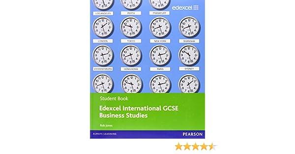 Edexcel Igcse Business Studies Student Book Pdf