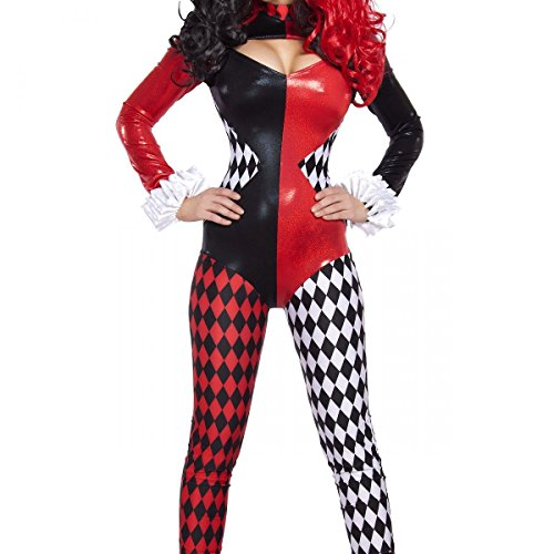 GSG Harley Quinn Costume Adult Female Super Villain Halloween