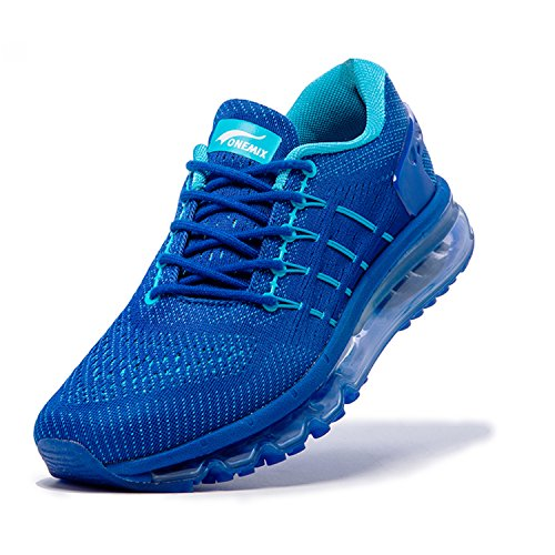 Compétition Fitness Entraînement Course Outdoor Sport Homme Marin ONEMIX Air Running Bleu Basses Sneakers Chaussures Multisport de vapwW0qBzx