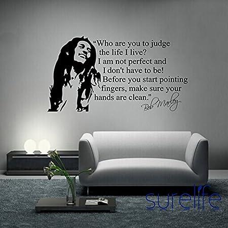 Wholesale Trade Ikea Wallpaper Poster Bob Marley Quote Vinyl Wall