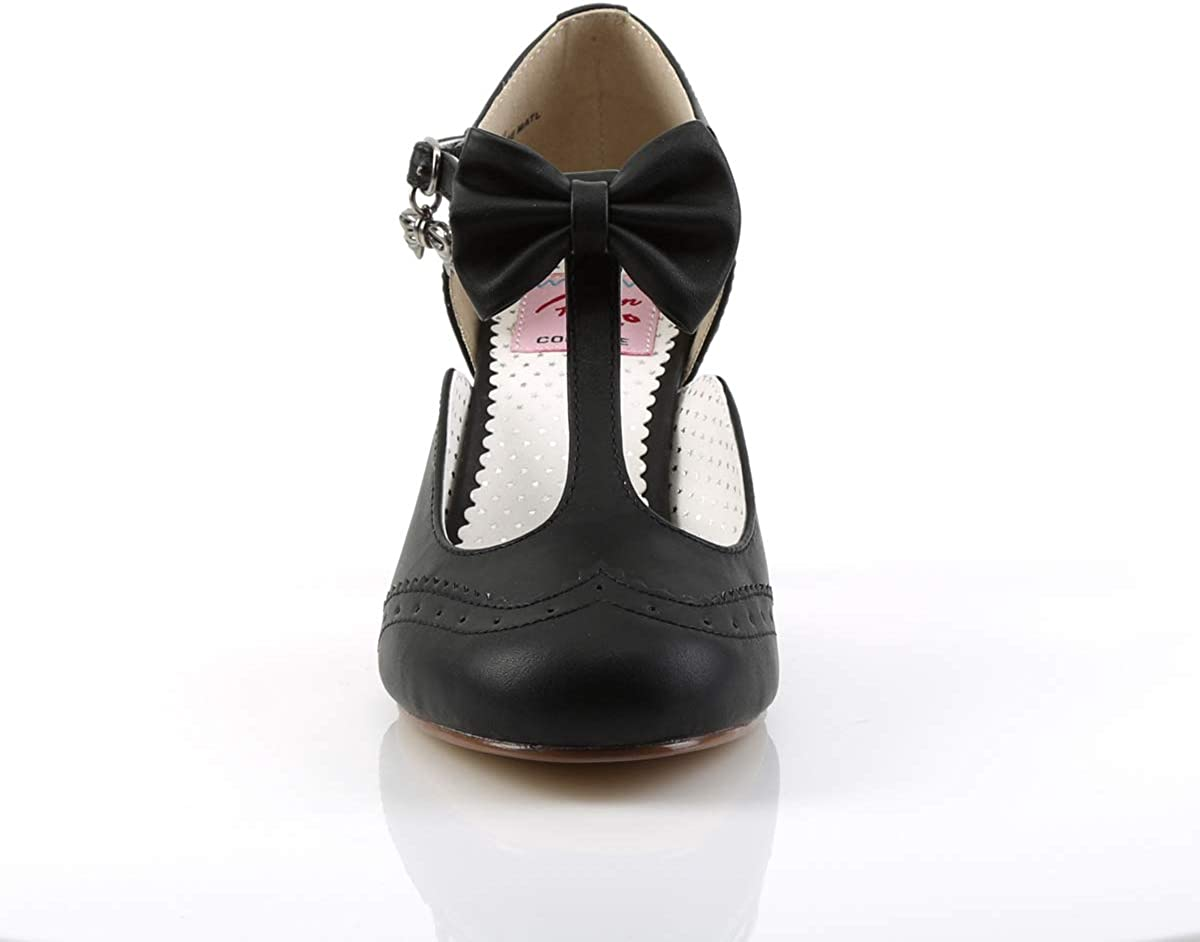 Escarpins Salom/é Femme Pin Up Couture Flapper-11