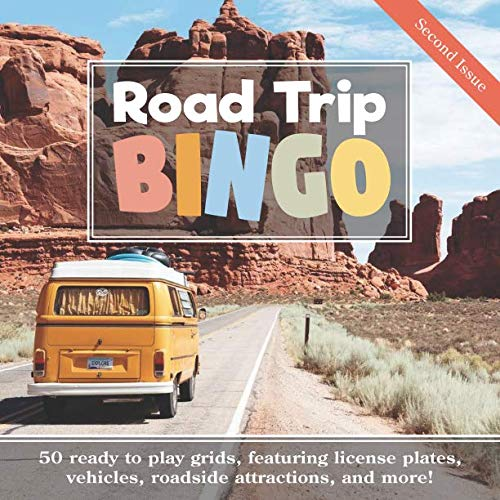 Road Trip Bingo: Second Issue: 50 Ready to Play Grids