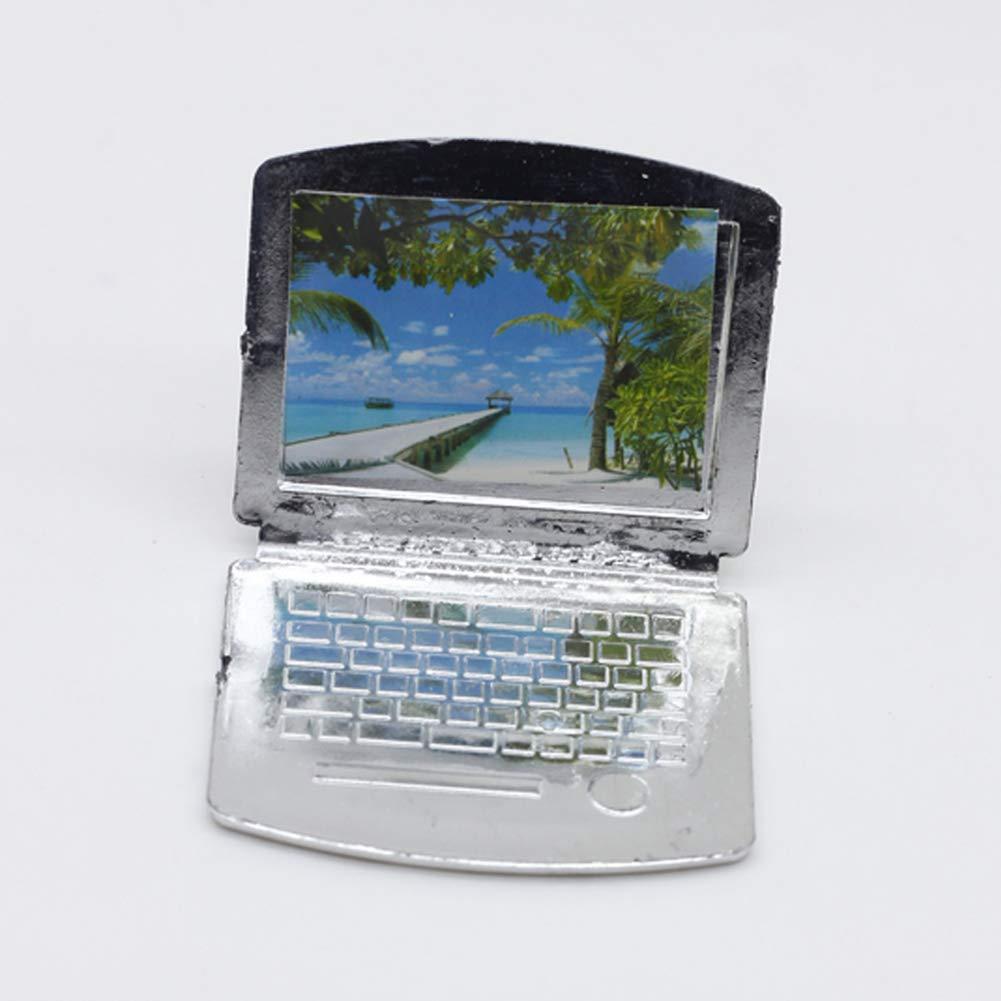 Originaltree - Lámpara de Escritorio para Ordenador portátil, Accesorios de Muebles para casa de muñecas Barbie para niños y niñas: Amazon.es: Hogar
