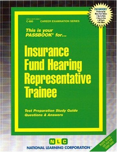 Insurance Fund Hearing Representative Trainee(Passbooks) Pdf