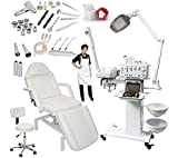 11-in-1 Elite Series Multifunction Diamond Microdermabrasion Facial Machine & Adjustable Hydraulic Bed Table Chair Salon Spa Beauty Equipment