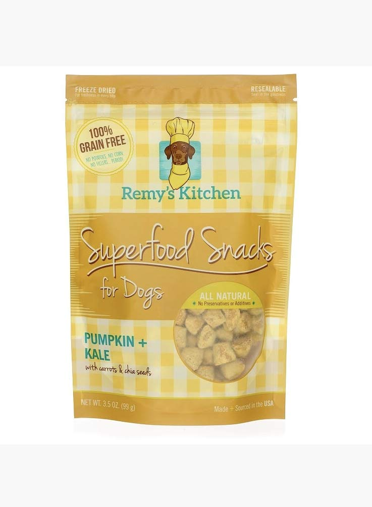 Remy S Kitchen Superfood Snacks For Dogs Pumpkin Kale