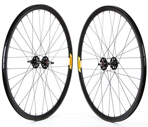 Wheel Set 700 Velocity Deep-V Black 32H