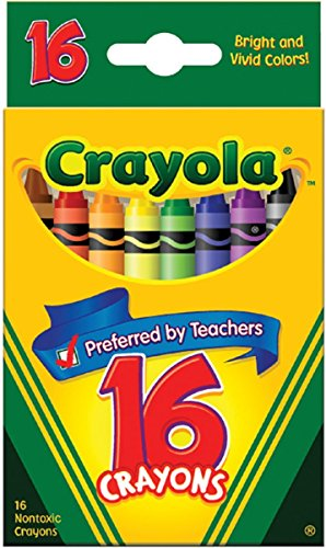 Crayola Classic Color Pack Crayons 16 ea ( Pack of 2)