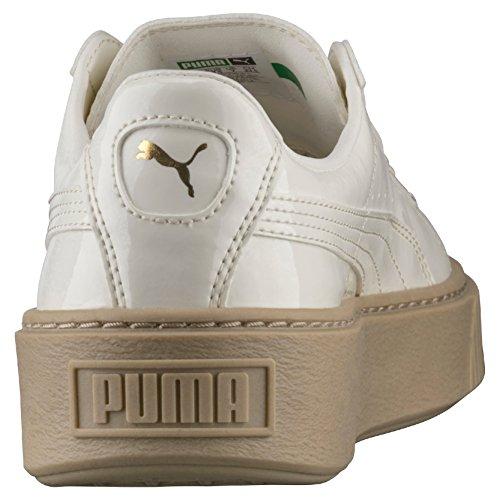 marshmallow Sneakers Basses Puma Marshmallow Basket Platform Blanc Femme Patent nwtWvpPWq8