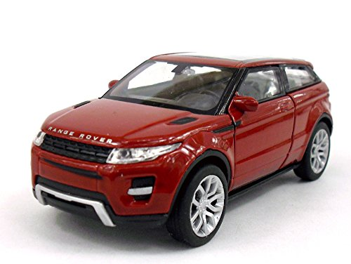 Land Rover Evoque 1/32 - 1/39 Aprox. Scale Diecast Metal Model - RED