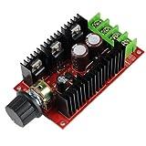 Unique Goods - 12V 24V 36V 48V 40A 2000W PWM DC Motor Speed Controller Adjustable Variable speed Switch HHO Driver