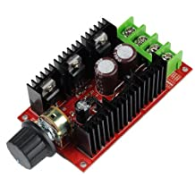 Unique Goods - 12V 24V 36V 48V 40A 2000W PWM DC Motor Speed Controller Adjustable Variable speed Switch HHO Driver