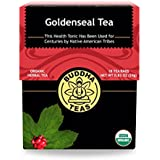 Organic Goldenseal Herb Tea - Kosher, Caffeine-Free, GMO-Free - 18 Bleach-Free Tea Bags