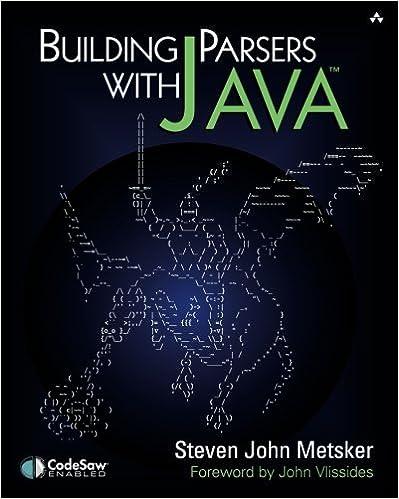 Building Parsers With Java¿: Steven John Metsker: 9780201719628