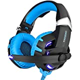 7.1 3d Stereo Channel Light Gaming Headset With Microphone Noise Canceling Hi-fi Deep Bass
