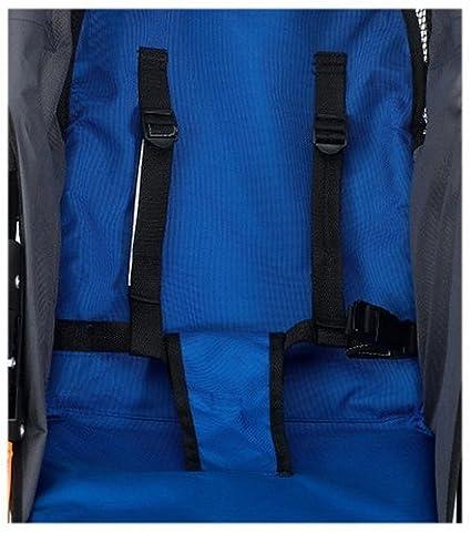 Amazon.com: Instep Run Around LTD Jogging Stroller (Blue/Black ...