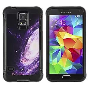 Suave TPU GEL Carcasa Funda Silicona Blando Estuche Caso de protección (para) Samsung Galaxy S5 V / CECELL Phone case / / Way Purple Space Universe Cosmos /