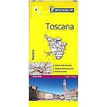 Michelin ITALY Toscana Map 358