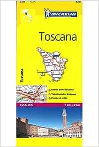 Michelin Map Italy: Toscana 358 (Maps/Local (Michelin
