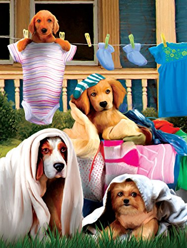 Laundry Helpers 300 Piece Jigsaw Puzzle by SunsOut