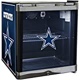 Glaros Officially Licensed NFL Beverage Center / Refrigerator - Dallas Cowboys
