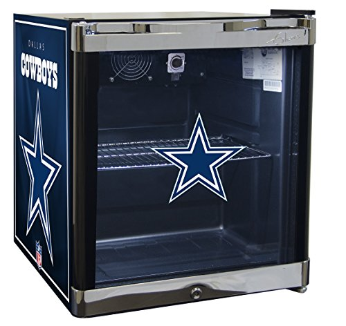 Glaros Officially Licensed NFL Beverage Center / Refrigerator - Dallas (Nfl Beverage Cooler)