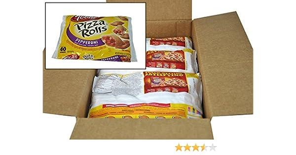 Amazon.com : Totinos Pizza Roll Snacks, Pepperoni, 19.8 oz ...