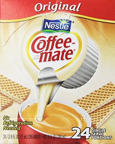 Huddle Coffee-Mate Original Coffee Creamers, .375 oz, 24 count