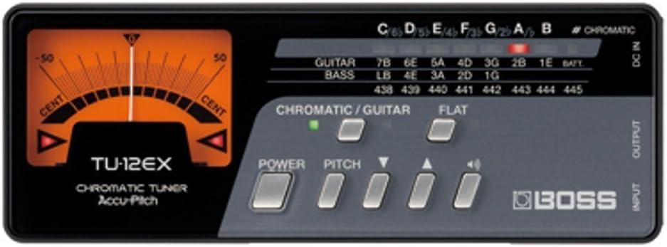 BOSS ボス ギター/ベース用チューナー TU-12EX