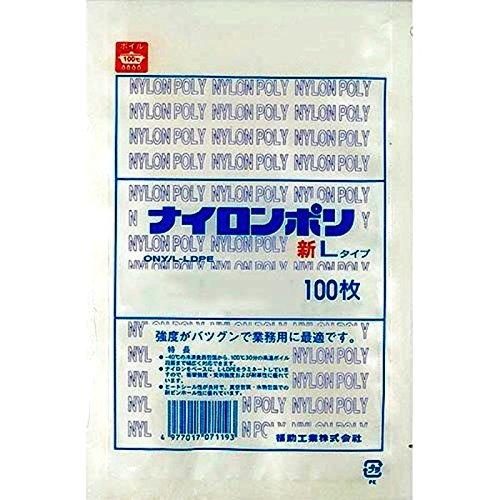 ナイロンポリ 新Lタイプ規格袋 No.14 (100枚) 巾200×長さ300㎜