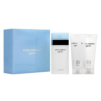 6ec75ed607 Dolce & Gabbana Light Blue, Ajuste con spray Eau de Toilette para las  mujeres (