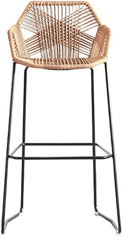 WANGJ-Chaise 8cm/8cm Dining Room Chairs Bar Stool - Woven Rattan