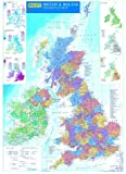 Philip's Reference Map: Britain and Ireland: Political (Wall Map)