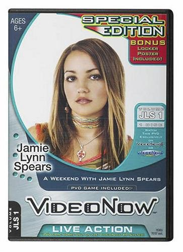 Hasbro Videonow Personal Video Disc: A Weekend with Jamie Lynn Spears (Bonus Poster)