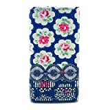 N920 Case,Nokia Lumia 920 Wallet Holster Case,Robot Minions Stylish [Red Flowers] PU Leather Button Flip Holster Cover Case For Nokia Lumia 920 [Built-in Card Slots/Cash Pocket]