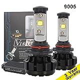 TOMALL V18 9005 H10 9145 LED Headlight Bulbs HB3 LED High...