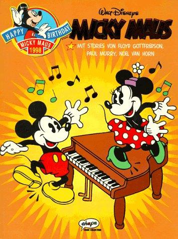 Siebzig Jahre Micky Maus Broschiert – 1998 Walt Disney Floyd Gottfredson Paul Murry Noel van Horn