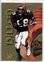 1999 E-X Century Essential Credentials Future #48 Corey Dillon - Cincinnati Bengals (Serial #'d 34/43)(Limited Edition Football Insert Card)
