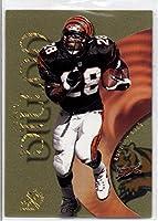 1999 E-X Century Essential Credentials Future #48 Corey Dillon - Cincinnati Bengals (Serial #'d 34/43)(Limited Edition Football Insert Card)