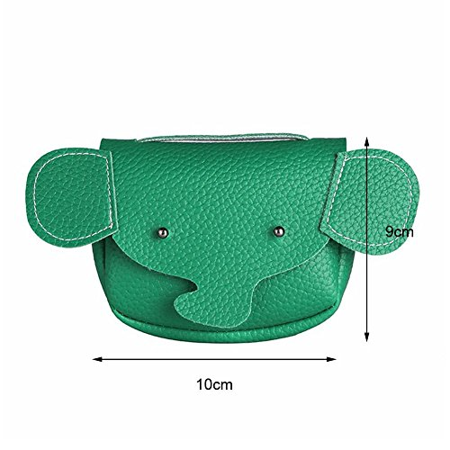 Baby Bag Kids Shoulder Leather Green Messenger Elephant Widewing Bags Girls Cartoon Animal S4xnqWWtR