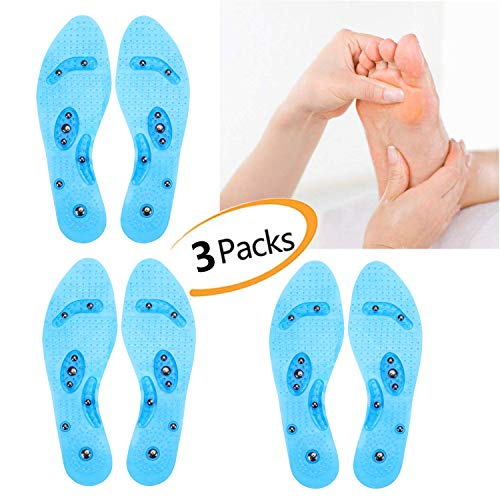 3 Pairs Unisex Genuine Leather Insoles One Size Suit For 36~45 HIGH QUALITY 6